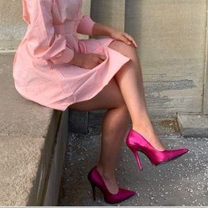 Fashionnova Fuschia Heels